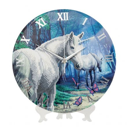 Crystal Art D.I.Y  The Journey Home UNICORN Clock kit